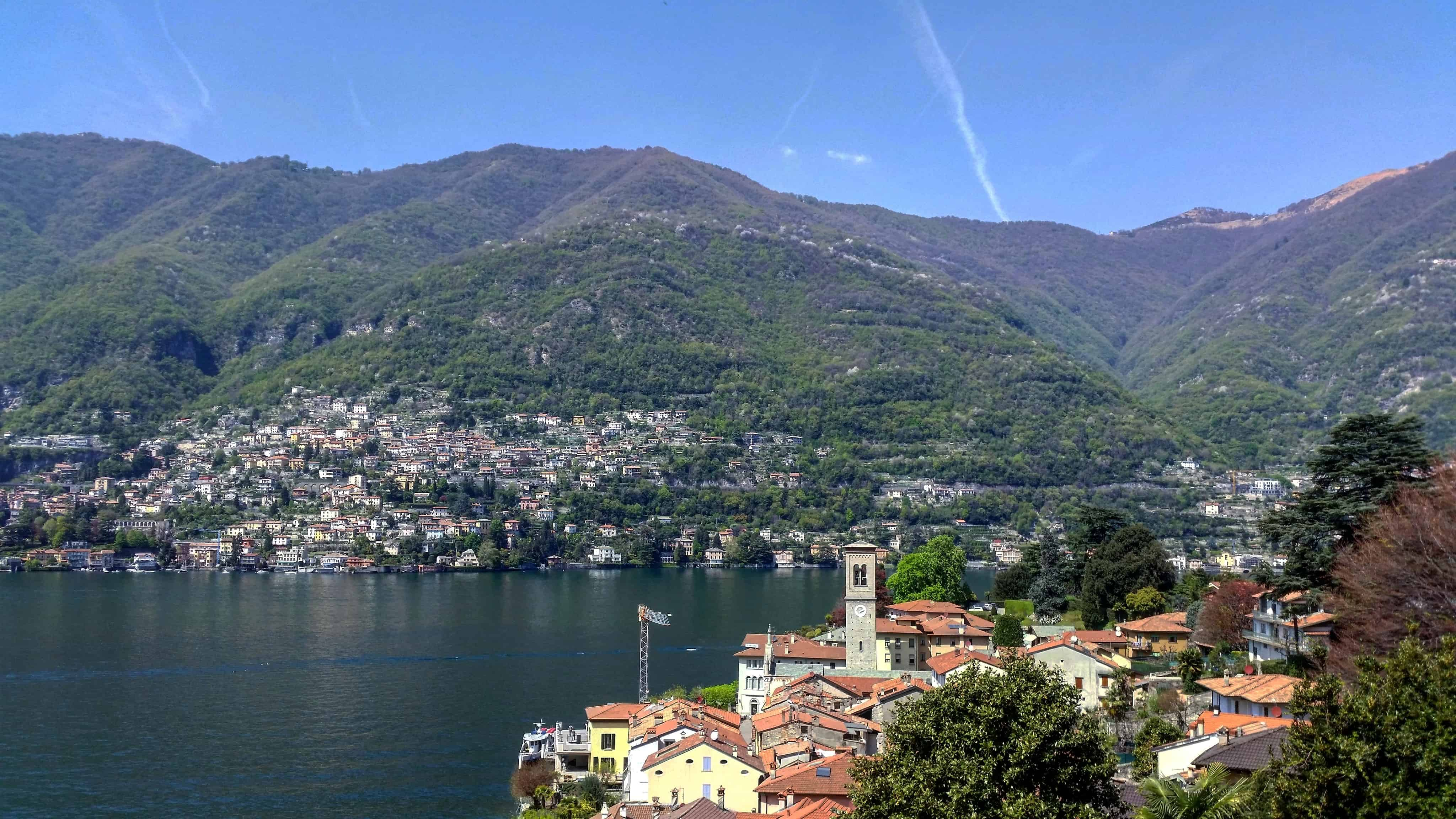 From Nesso to Torno on Lake Como