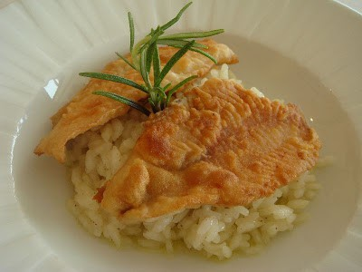 Visit Lake Como and try Risotto con Pesce Persico