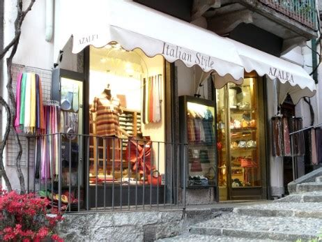 Silk Shop in Bellagio, Lake Como
