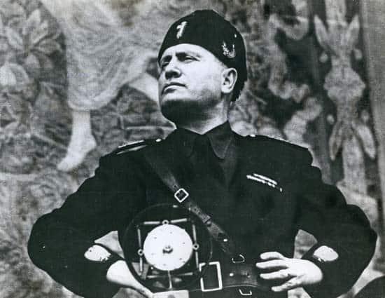 Benito Mussolini - History of the Lake Como